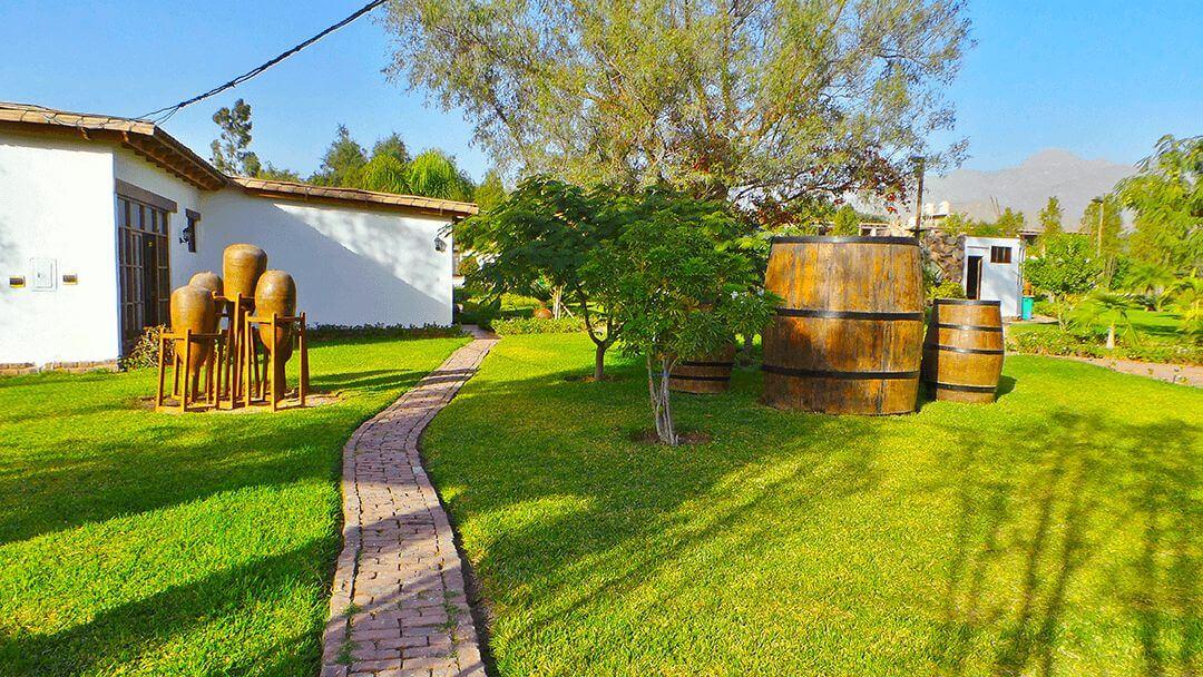 Experiencia campestre única en la Casa Hacienda Nasca Oasis
