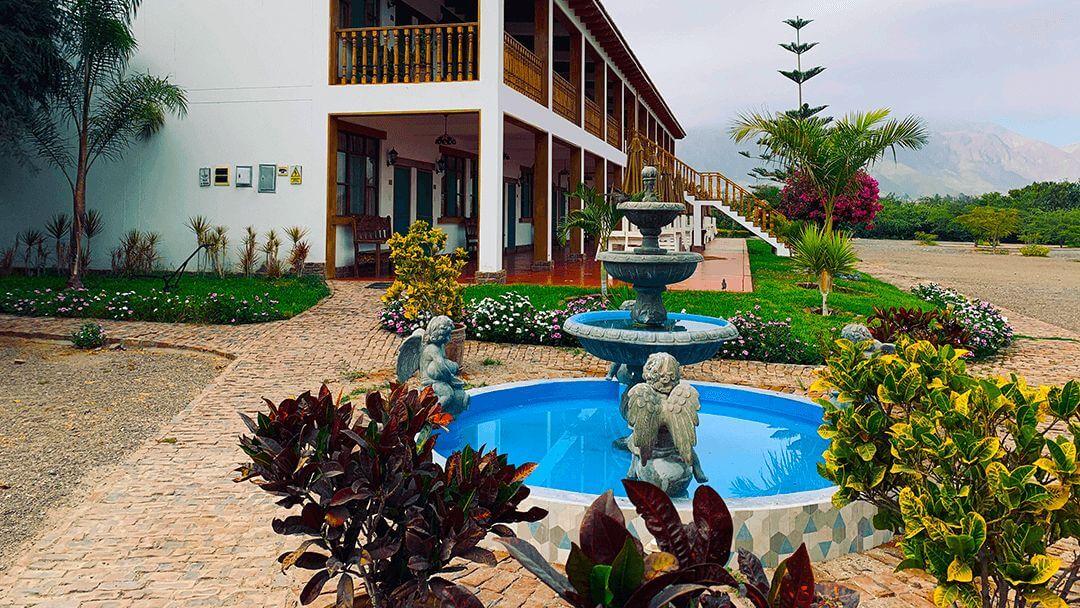 Exterior de Habitaciones Hotel Nasca Oasis